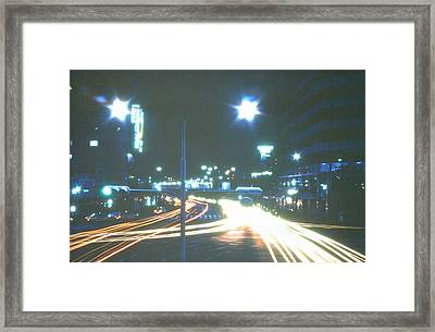 Spring In Kobe Framed Print by Robert Margetts