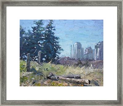 Spring Over The Hills Framed Print by Ylli Haruni
