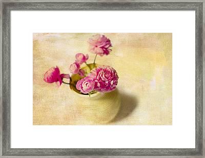 Spring Please Framed Print by Rebecca Cozart
