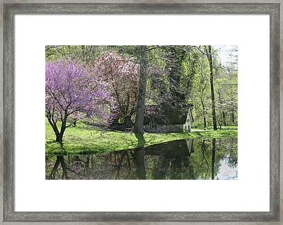 Spring Reflections  Framed Print by Gordon Beck