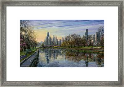 Spring Serenity  Framed Print by Doug Kreuger
