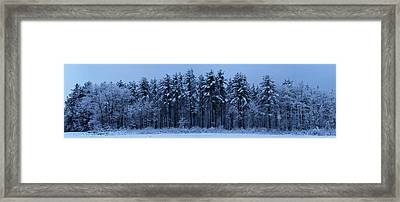 Spring Storm Framed Print by Chris Howe