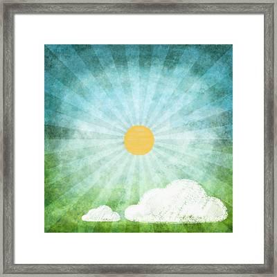 Spring Summer Framed Print by Setsiri Silapasuwanchai