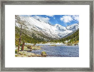 Spring Thaw Framed Print by Eric Glaser