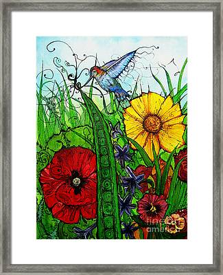 Spring Things Framed Print by Carrie Jackson