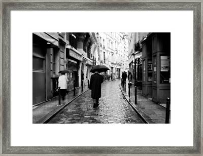 Spring Time In Paris Framed Print by Obi Martinez