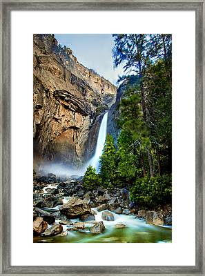 Spring Valley Framed Print by Az Jackson