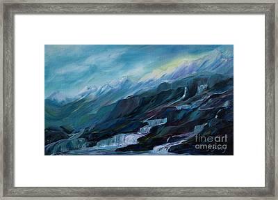 Spring Water Framed Print by Joanne Smoley