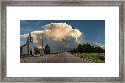 Springdale Framed Print by Aaron J Groen