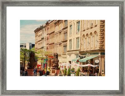 Springtime In Halifax Framed Print by Jeff Kolker