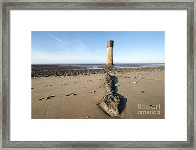 Spurn Head Framed Print by Stephen Smith