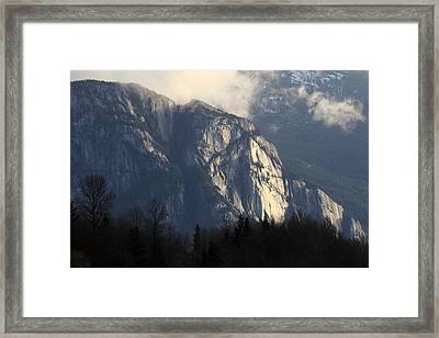 Squamish Chief Monolith  Framed Print by Pierre Leclerc Photography