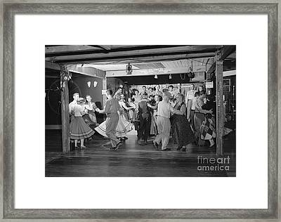 Square Dancing, C.1950s Framed Print by H. Armstrong Roberts/ClassicStock