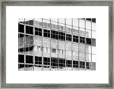 Squared Framed Print by Tim Gainey
