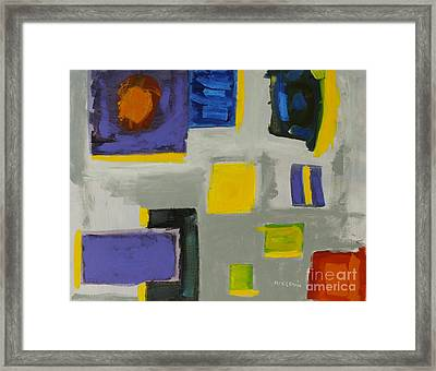 Squares Framed Print by Katie OBrien - Printscapes