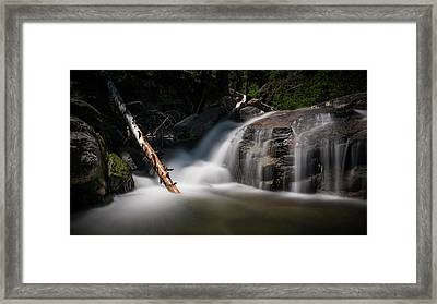 Squaw Creek Framed Print by Sean Foster