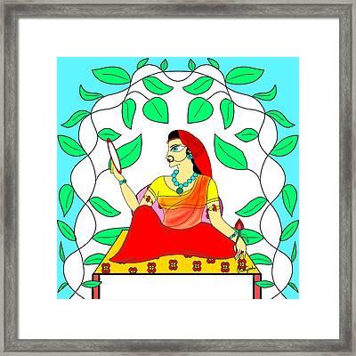 Sringar Framed Print by Pratyasha Nithin