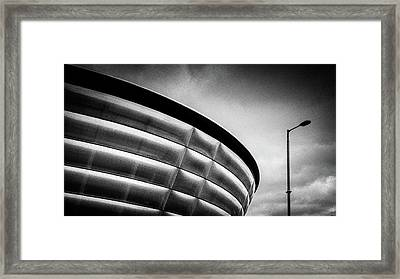 Sse Hydro Framed Print by Dave Bowman