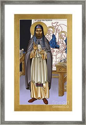 St. Andrei Rublev - Lwrub Framed Print by Lewis Williams OFS