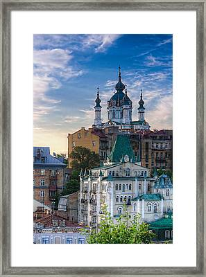 St. Andrews In The Morning Framed Print by Matt Create