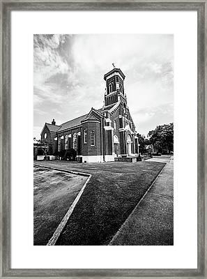 St. Anthony Padua Catholic Church Framed Print by Scott Pellegrin