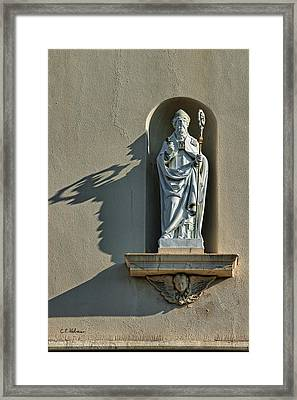 St. Augustine Of Hippo Framed Print by Christopher Holmes