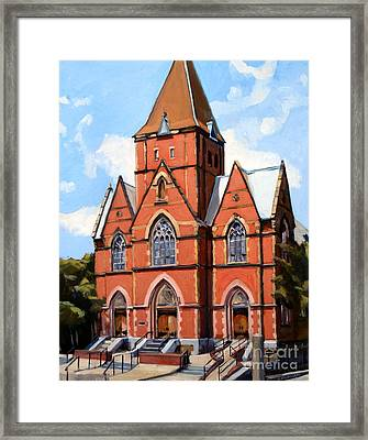 St. Augustine's Church Framed Print by Deb Putnam