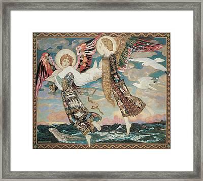 St. Bride Framed Print by John Duncan