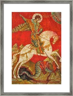 St George II Framed Print by Tanya Ilyakhova