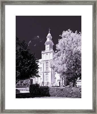 St. George Temple High Contrast Framed Print by Greig Huggins