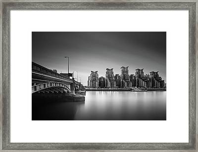St. George Wharf Framed Print by Ivo Kerssemakers