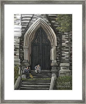 St Georges Parishioners Framed Print by Reb Frost