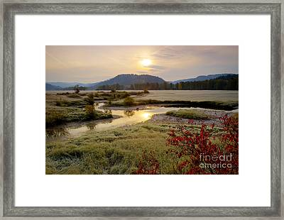 St. Joe River Valley Framed Print by Idaho Scenic Images Linda Lantzy