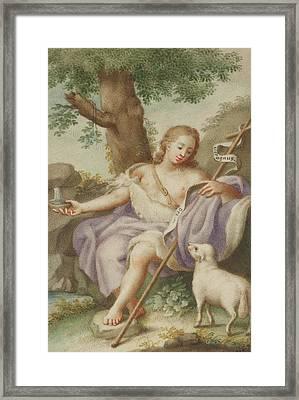 St John The Baptist Framed Print by Austrian School