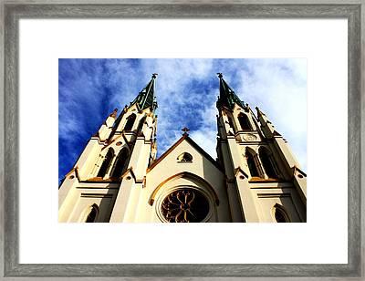 St. John The Baptist Cathedral Framed Print by Dana  Oliver