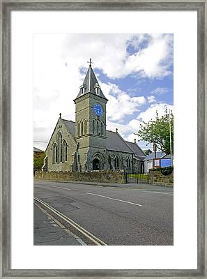St John The Evangelist Church At Wroxall Framed Print by Rod Johnson