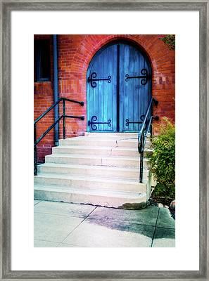 St. John's Door Framed Print by Terry Davis