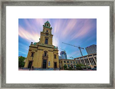 St. Johns The Evangelist Cathedral Framed Print by Andrew Slater