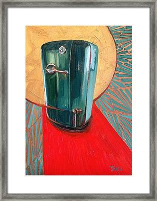 St. Kelvinator Framed Print by Jennie Traill Schaeffer
