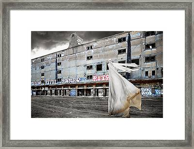 St Louis - Haunted Framed Print by Steven  Michael