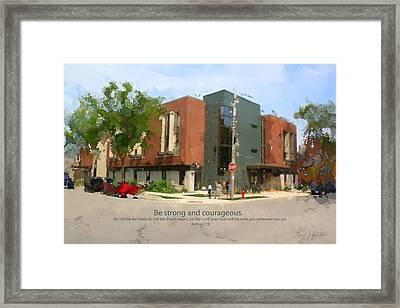 St Marcus Framed Print by Geoff Strehlow