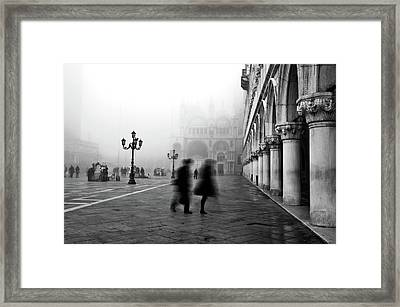 St Mark's Square Framed Print by Marion Galt