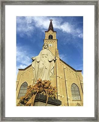 St. Mary's Catholic Church Framed Print by Nick Boren