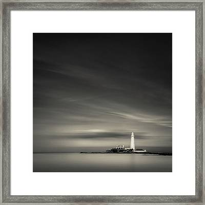 St. Mary's Island Framed Print by Dave Bowman