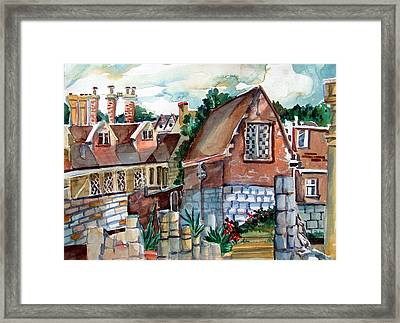 St Marys Of York England Framed Print by Mindy Newman