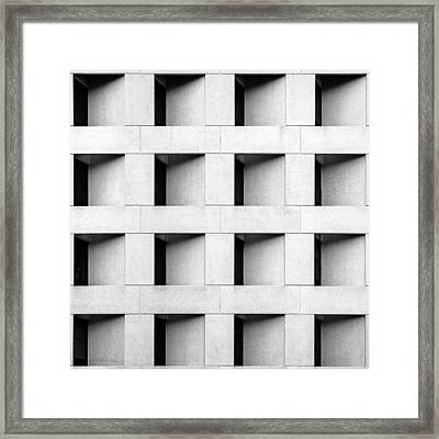 St. Mary's Squares Framed Print by Todd Klassy