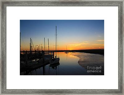 St. Mary's Sunset Framed Print by Southern Photo