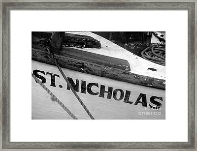St. Nicholas Framed Print by David Lee Thompson