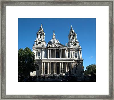 St Pauls Cathedral Framed Print by Chris Day