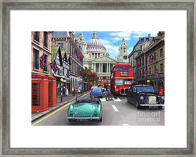 St Pauls Cathedral Framed Print by Dominic Davison